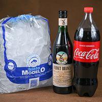 Fernet Branca L + Coca Cola 1.5 L + Hielo Bolsa 3 Kg