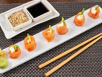 Geisha salmón queso y palta (6 unidades)