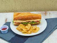 Sándwich Jamón
