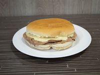 Sándwich barros luco (mediano)