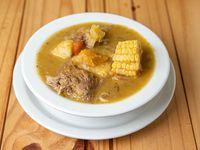 Sopa del día - porción chica - con arroz blanco
