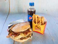 Hamburguesa Especial en Combo
