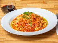 Fetuccini casero con salsa a elección