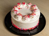 """Cake de vainilla con 2 rellenos (redondo 8"""")"""