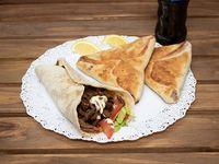 Promo para 1 persona - Shawarma + 2 Fatay + Gaseosa Pepsi 500 ml
