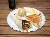 Promo para 1 persona - Shawarma + Fatay + Bohio + Gaseosa Pepsi 500 ml