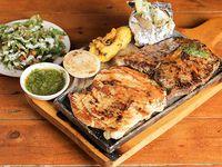Parrillada mixta - Carne y pollo + acompañamiento