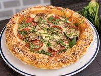Pizza Parmesano y Pepperoni Americano Toscana Personal