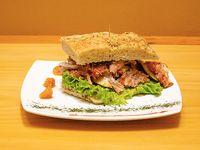Sándwich Bistro Polled Pork