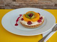 Tartaleta de fruta (trozo)