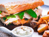 Sándwich de Jamón de Cerdo