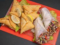 Promo - 2 shawarma + 6 empanadas árabes