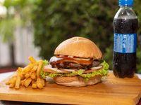 Hamburguesa BBQ Burger en Combo
