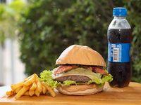 Hamburguesa Pica Burger en Combo