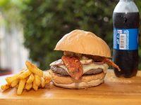 Hamburguesa Vic Burger en Combo