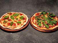 Promo Feliz - 2 Pizzas caseras 30 cm 2 gustos cada una