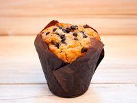 Muffin plátano chocolate