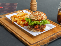 Burger Desmechada