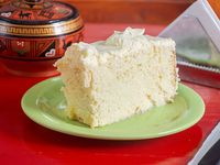 Torta 3 leches peruana (porción)