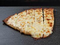 Porción fainá con mozzarella