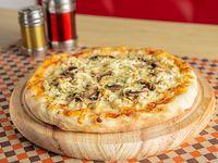 Pizza Pollo con Champiñones Mediana
