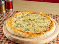 Pizza Cuatro Quesos Personal
