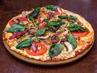 Pizza pequeña campesina