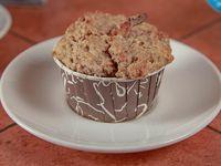 Muffin de platano y nuez
