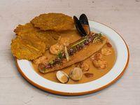 Filete de Pesca Fresca y Camarones
