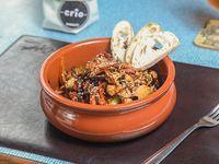 Promo - Wok de pollo con verduras grilladas de estación