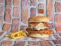 Hamburguesa Super Especial + Apanado