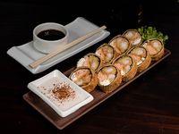Sake edu oriental rolls (9 piezas)