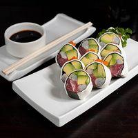 Tuna oriental rolls (9 piezas)