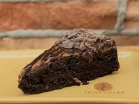 Porción de Torta de Perfecta de Chocolate