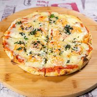 Pizza frescura de mar