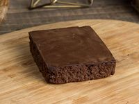 Signature vegan brownie