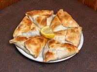 Empanada árabe con masa casera