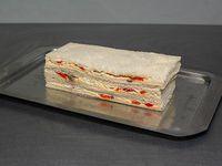 Sándwich de anchoas y queso (3 unidades)