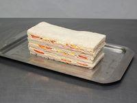 Sándwich de paleta y verdura (3 unidades)
