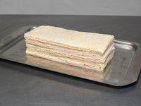 Sándwich de jamón y queso (3 unidades)