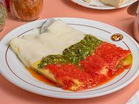 Mix de cannelloni artesanal 3 salsas