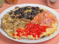 Pizza 4 staggioni familiar (35 cm)