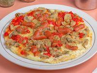 Pizza cacciatora familiar (35 cm)