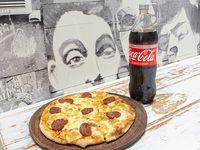 Promo Pizza libre elección mas gaseosa 1.5 L