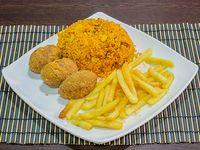 Croqueta de Pollo con Queso