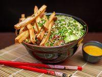 Veggie chaufa wok