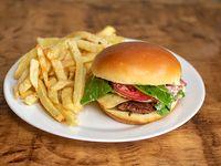 Soft burger