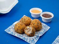 Croquetas de Salmón y Cream Cheese 4 unidades