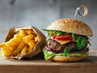 Hamburguesa de Carne + Gaseosa
