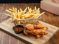 Chicken Tender con fritas